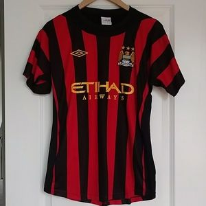 new product 9e81a c03a6 Manchester City RETRO Jersey